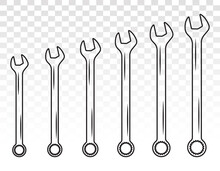 Set Of Wrench Combination / Sp...