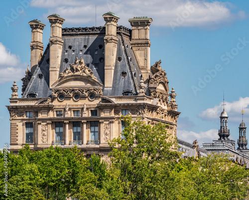Fotografie, Tablou Le Louvre, Paris, France
