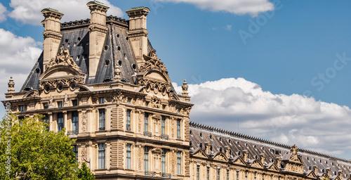 Le Louvre, Paris, France Fototapet