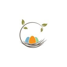 Nest Icon Vector Illustration Design