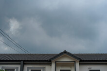 Dark Sky While Storm Is Coming...
