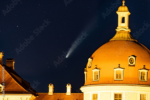 Photo Komet Neowise, Moritzburg