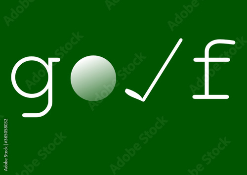 Fototapeta Golf obraz