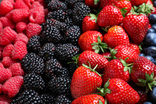 Mix Of Different Ripe Tasty Be...