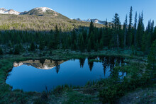 Beaver Ponds In Rocky Mountain...