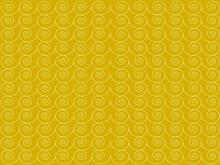 Golden Background With Swirl C...