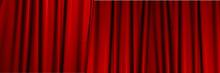 赤のステージ幕の背景