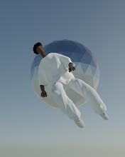 Illustration Of Man Falling In...