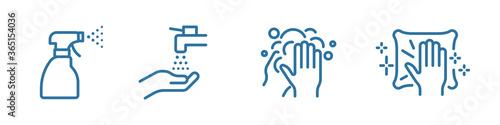Fototapeta Coronavirus vector icon obraz