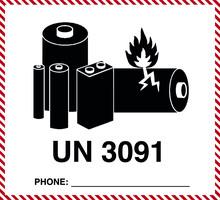 UN 3091 - Lithium Battery