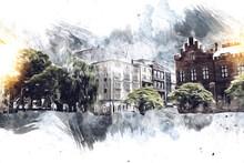 Kolobrzeg Old City, Town Hall,...