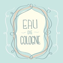 Eau De Cologne Label