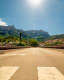 Fototapeta Zwierzęta - View of the Monastery of Montserrat in Catalonia, near Barcelona