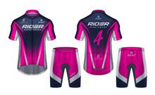 Cycling Jerseys Mockup,t-shirt...