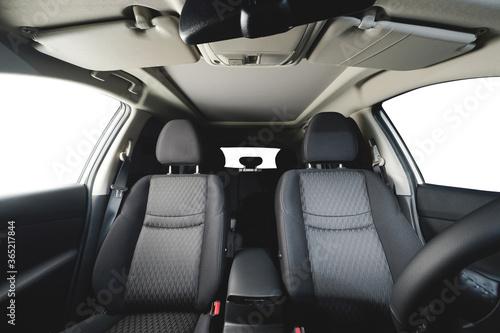 Fotografie, Obraz Front cloth car seat