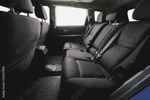 Fototapeta Comfortable clean back cloth seat