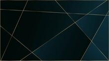 Blue Premium Triangular Patter...