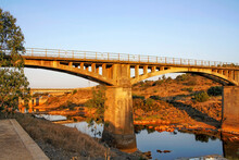 Gadea Bridge At Dawn, Located ...