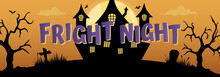 Halloween Fright Night Vector ...