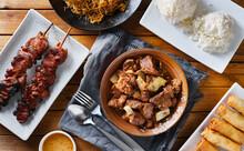 Pork Adobo Meal With Filipino ...