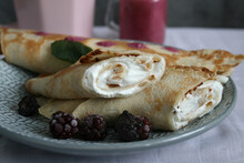 Pancakes With Cottage Cheese A...