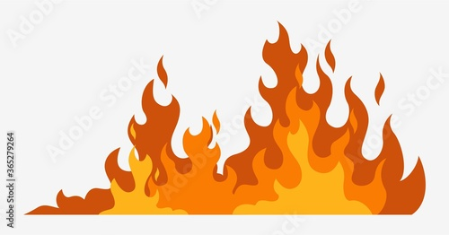 Photo Fire background