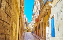 Narrow Streets Of Old Birgu, M...