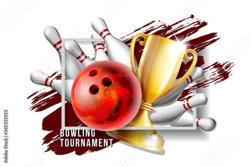 Papel de parede Bowling Game Award