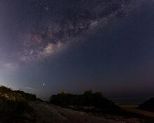 Via Láctea Sob O Céu Da Prai...