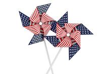 Pinwheel With American Flag, 3...