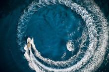 Speed Boat In Mediterranean Se...
