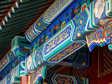 Detail Of Colorful Traditional...