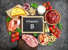 High Vitamin B Sources Assortment
