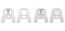 Blouse Technical Fashion Illus...