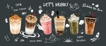 Bubble Milk Tea Special Promot...