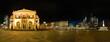 Panorama vom Opernplatz in Frankfurt bei Nacht