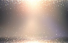 Golden Sparkles On Lens Flare ...