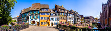 Old Town Of Colmar In France