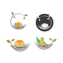 Nest Icon Vector Illustration ...