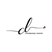 CL Initial Handwriting Logo Lu...