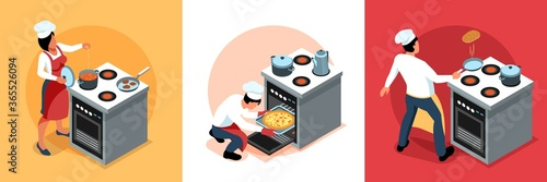 Cooking People Design Concept