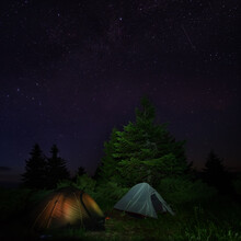 Two Tents Under The Starry Sky...