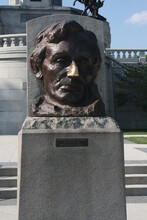 Abraham Lincoln Tomb And Memorial In Springfield Illinois