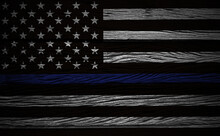 An American Flag Symbolic Of S...