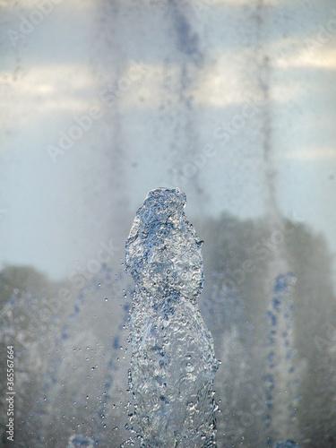 Fotografía Fountain splash stop-motion