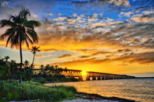Sunset View Of Bahia Honda Sta...