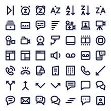 Line Essential Icons 72