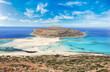 canvas print picture - Famous Balos lagoon, Crete, Greece