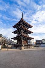 Pagoda At Hida Kokubunji Templ...