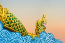 Yasothon , THAILAND : The Gold...